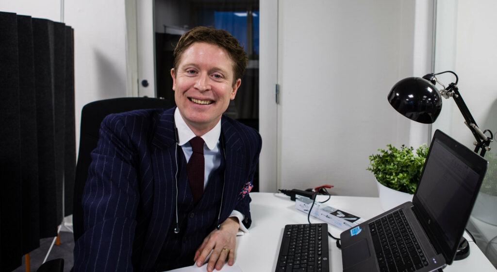 Carl-Johan är en av grundarna till Ants IT-rekrytering
