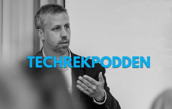 Jens Alm i Techrekpodden
